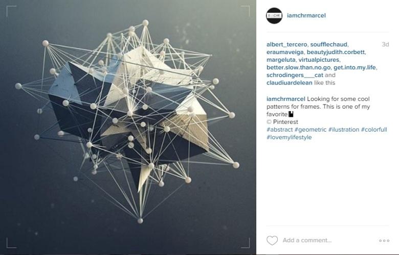 Instagram pattern